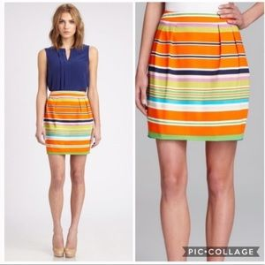 Kate Spade Colorful Striped Mini Skirt 2